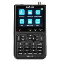 SATLINK SP-2100 HD DVB-S / S2 und MPEG-2/4 Digitales Satfinder 9 cm LCD-Farbdisp