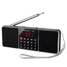 Portable FM Stereo/AM Radio Speaker Sleep Timer Bluetooth Support TF Card