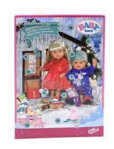 Zapf Creation 828472 BABY born Adventskalender Kleidungsstücke und Accessoires