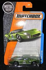 2017 Matchbox  Ford  GT-40  in Green  Multiples Available   MB-3