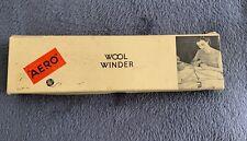 Vintage Aero Wool Winder In Box