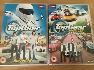 Top Gear DVD Boxset The Complete Series 19 & 20 (2013, 5-Disc Set) BBC