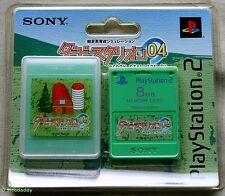Derby STALLION PS2 04 8 MB tarjeta de memoria (2004) totalmente nuevo y sellado de fábrica de Sony