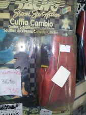 Cuffia Copri Leva Cambio VERA pelle gear gaiter real leather Tuning Rosso