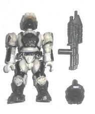 Halo Mega Bloks cifras ~ 2010 Unsc Marine (Blanco) Mochila Y Rifle De Asalto