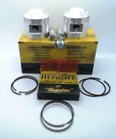 Hepolite Complete Piston Kit 9-1 +20 Triumph T120 TR6 650 1959 to 75 OEM: 17844