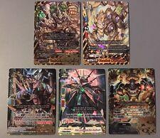FUTURE CARD BUDDYFIGHT DRA-GOLLUM KID IBUKI GEARGOD VIII CHAOS X-BT03 SECRET SET