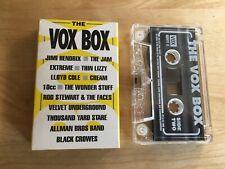 Vox Magazine The Vox Box Cassette Hendrix Thin Lizzy 10cc The Jam etc