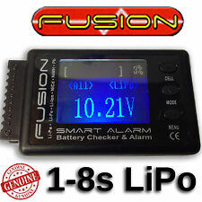 Fusion Multi Function LiPo Battery Checker & Alarm Voltage Cell Meter RC Car