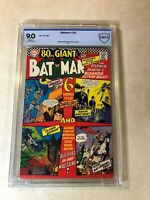 BATMAN #193 CBCS 9.0 vf nm 80 PAGE GIANT 1967 DC pedigree ROBIN Bizarre Action