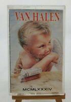 """VINTAGE Van Halen """"MCMLXXXIV-1984"""" Cassette Tape Warner Bros #23985-4 Circa 1983"""