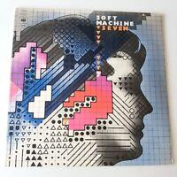 Soft Machine - Seven 7 - Vinyl LP UK 1st Press A1/B1 NM Prog