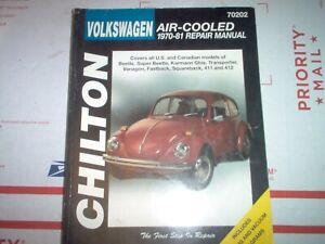 Repair Manuals Literature For 1976 Volkswagen Super Beetle For Sale Ebay