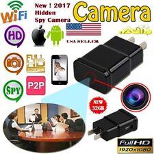 2017- 32Gb WiFi 1080P Hd Spy Dvr Hidden Camera Video Recorder Camouflage Adapter