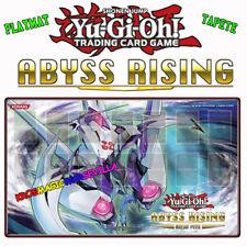 YUGIOH Playmat Sneak Peek: Abyss Rising NEW -TAPETE Levantamiento abismal