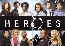 Heroes Season 1 San-Diego Promo Card Set of 4 Promo Cards from Topps