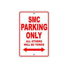 KTM SMC Parking Only Towed Motorcycle Bike Chopper Aluminum Sign