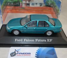 1:43 Paradise Garage Ford Falcon Futura EF Reef Green Metallic Die Cast model