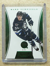 12-13 Panini Dominion Emerald Green #97 MARK SCHEIFELE /5