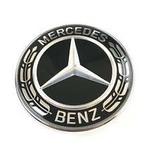 Mercedes reemplazo capó estrella emblema w205 C w212 w213 w238 e-Klasse negro