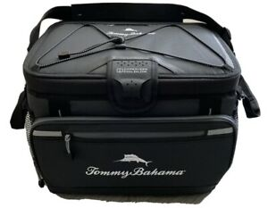 Tommy Bahama Zipperless Cooler Bag BackSaver Insulated Ice Bag 30 Can