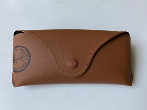 SPECIAL EDITION CASE Ray Ban Sunglasses Brown Case W/ Cleaning Cloth Eyeglasses