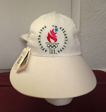 USA OLYMPICS logo women's sun shade hat 1996 vtg NWT bucket cap ATLANTA w/ bow