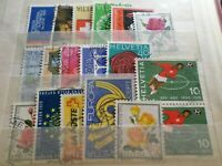 SUISSE, LOT timbres oblitérés, VF used STAMPS