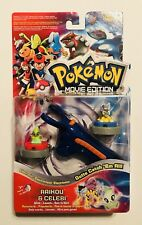 Pokemon Toy Movie Edition Raikou & Celebi Electronic Launchers Collectible NIP