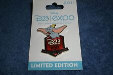 Disney D23 Expo 2011 Walt Disney'S Dumbo 70th Anniversary Le 750 Pin