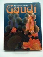 Antonio Gaudi Complete Works Hardcover Like New