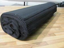 B1 Baumwollnessel Nessel Stoff 10m x 3m schwarz 90gr/m²  Schleiernessel