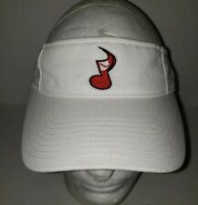 NASHVILLE SOUNDS MiLB white Adjustable Logo Visor Cap '47