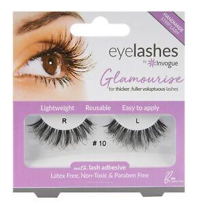 Invogue False Eyelashes Glamourise Style #10