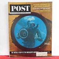 Untold Mississippi Murders The Saturday Evening Post Magazine September 5 1964!