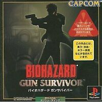 USED PS1 PS PlayStation 1 Resident Evil Gun Survivor