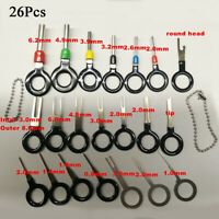 26Pcs Wire Terminal Removal Hand Tool Electrical Wiring Crimp Connector Pin Kit