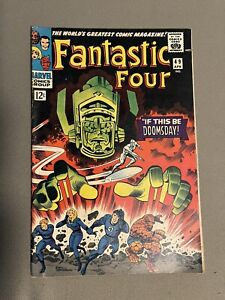 FANTASTIC FOUR #49 1st Full Galactus 2nd Silver Surfer  First Surfer on Cover