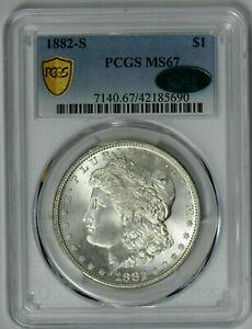 1882 S Morgan Dollar MS 67 PCGS *CAC Verified!*