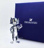NEW  100% SWAROVSKI Tom and Jerry Crystal Tom Cat Figurine Display Deco 5515335