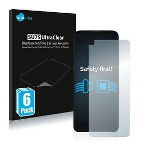 6x Screen Protector for Motorola Moto G9 Power Plastic Film Invisible Shield
