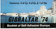 Gibraltar 1974 UPU Centenary Stitched Booklet MNH (SC# 309a)