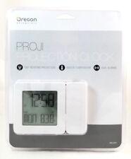 Oregon Scientific PROJI Projection Clock Dual Alarm Indoor Temperature Calendar