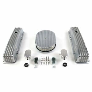SBC 12 Full Oval/Tall Finned Engine Dress Up kitw/ Breathers (PCV)