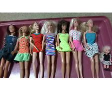 Barbie Dolls plus small doll Mixed lot of 7