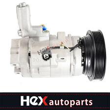 A/C Compressor and Clutch Fits Acura MDX, Honda Odyssey, Honda Pilot Models