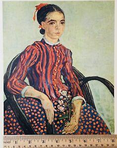 """Impressionists Art Reproduction, Vincent Van Gogh """"La Mousme"""" July 1888"""