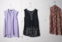 Maine Monsoon and Dorothy Perkins Sleeveless Blouse Bundle - Size 10 - (L-R7)