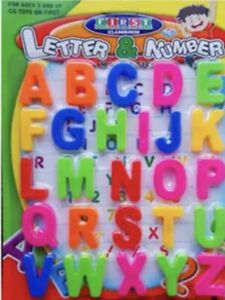 Magnetic Large Capital Letters Alphabet Fridge Magnets Toys Kids Learning
