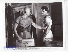 John Drew Barrymore grabs Pierre Brice VINTAGE Photo Pharaoh's Woman